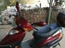 吋时尚豪爵踏板摩托车出售,成色不错1元
