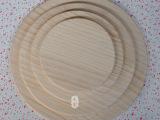 实木托盘6 7 9 12寸 披萨盘 木盘 蛋糕水果盘 咖啡圆盘