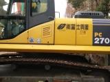 出售新款二手小松220-7挖掘机,包送货