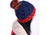 帽子 女 冬天 韩版 潮 针织帽毛线帽子 韩国秋冬加厚保暖帽女士