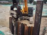 北京打樁打拔鋼板樁拉森樁預制管樁
