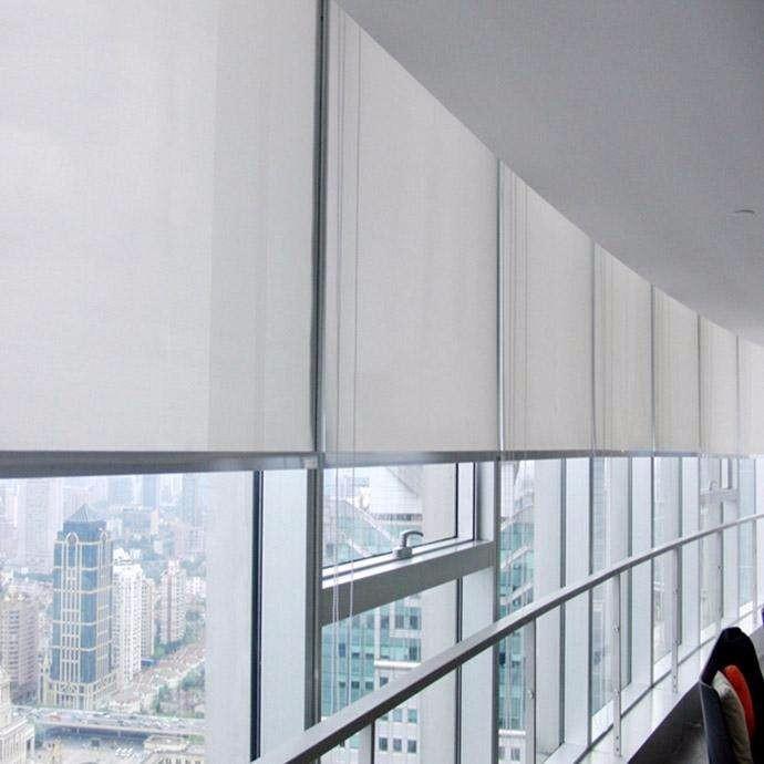 北京站附近窗帘定做 恒基中心办公室卷帘定做