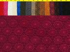 供应新款特殊布料 精美花型水溶蕾丝面料复合五枚缎