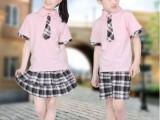 童装夏季校服 幼儿园园服夏装 儿童校服中小学班服 合唱服
