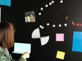 磁善家批发家居黑板贴无尘书写黑板墙家用磁性留言板定制
