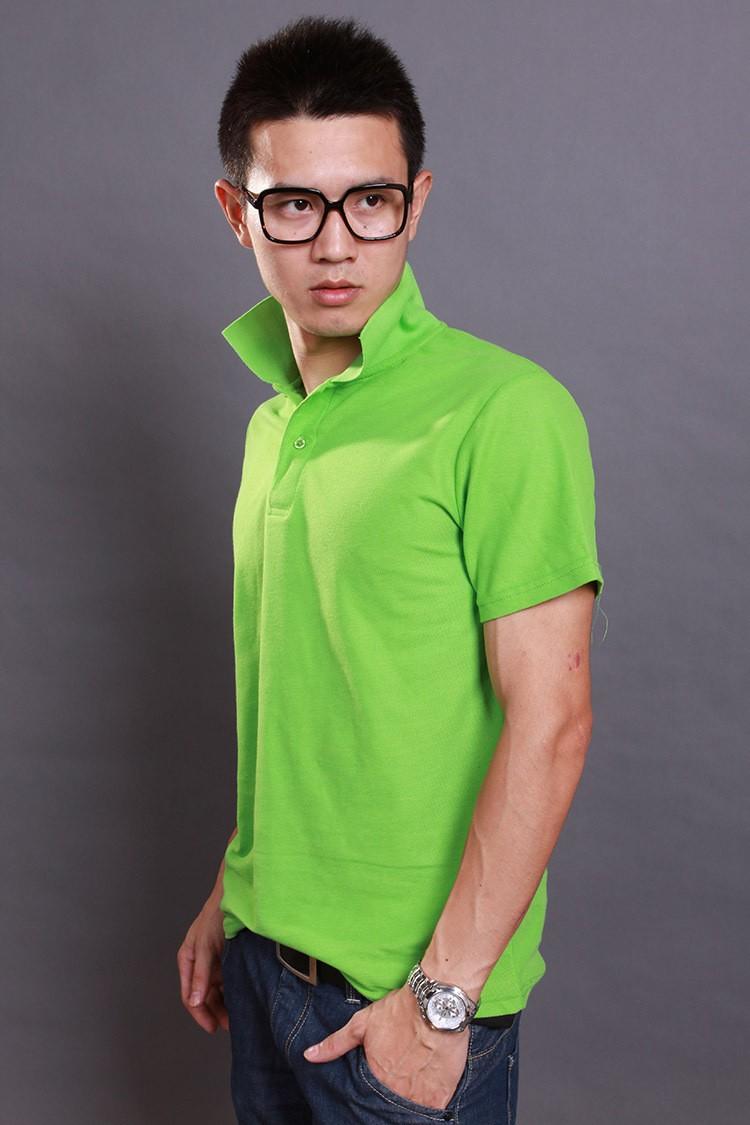 西安鑫尚服饰商务T恤衫订做 可图案定制 一件起订