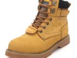 韩版潮流男靴子 马丁靴 真皮靴男鞋 工装靴 军靴英伦潮鞋
