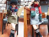 女童秋冬装新款 韩版中小童76数字字母抓绒圆领套头卫衣批发962