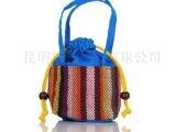 民族布艺小手提包布包 儿童手提包 手工小包包零钱包杂物包化妆包