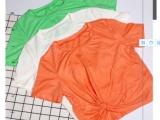 禾幸女装夏季修身短款体恤