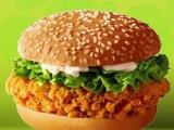 田园鸡脆堡牛肉饼香辣鸡腿堡汉堡批发
