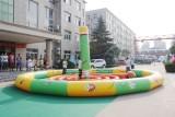 河南焦作市趣味运动充气飞镖 趣味运动会器材租赁欢迎咨询