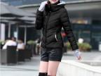 一件代发2014新款韩版加厚休闲冬装外套修身大码羽绒服女短款