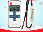 led单色无线控制器 灯带RF调光器 迷
