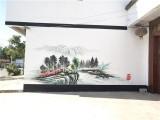 镇江丹阳墙体彩绘 新农村粉刷, 墙体广告粉刷
