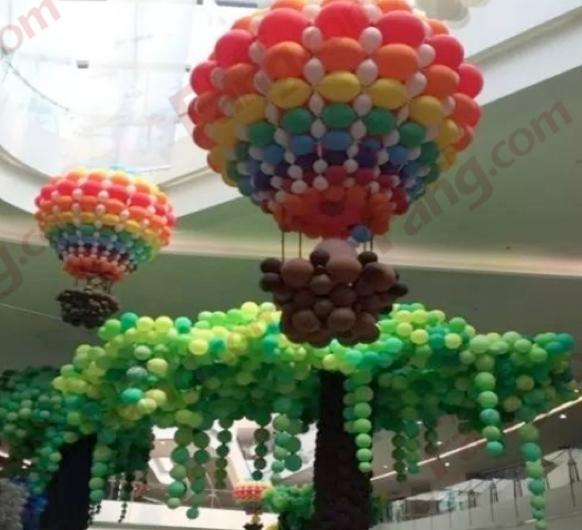 时尚气球装饰,大型气球布置,场地策划