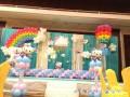 常州宝宝百日宴生日宴气球策划布置