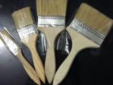 棕毛油漆刷/船用刷/毛刷/猪毛刷子木柄扫灰刷 1寸2寸3 寸4寸