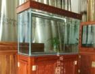 河源鱼缸专卖店 酒店水族箱 定做 观赏鱼缸批发