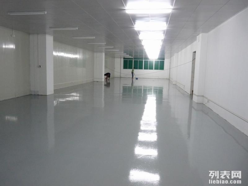 专业承接小蓝 昌东工业园厂房金刚砂耐磨地坪 环氧地坪漆