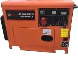 武漢廠家直銷7千瓦便捷式靜音柴油發電機組