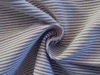 欧美品质色织弹力牙签条 紧密纺 进口高速箭杆织造 休闲服装面料