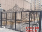 制作各种塑钢护栏铝艺护栏铁艺护栏铁艺门