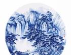 大埔漳联手绘青花挂盘陶瓷工艺礼品,高档家居装饰精品