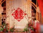 大红新式中国风婚礼 执子之手与子偕老 跟妆主持摄影摄像