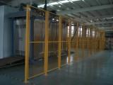專業定做鐵絲浸塑金屬圍欄網 多種規格定做車間倉庫隔離防護網