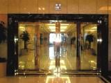 太原维修玻璃门 换地簧修门把手换玻璃