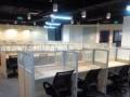 白鹭翱翔办公家具办公桌工位隔断呼叫中心电话营销屏风