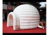 供应充气帐篷户外露营PVC宴事篷房 定制蒙古包免搭充气房子