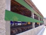 订做防寒鸡舍羊场卷帘 养殖牛棚围布设备 养殖场pvc帆布价格