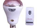遥控灯泡节能灯5W LED 高亮E27螺口灯泡 带储电应急功能