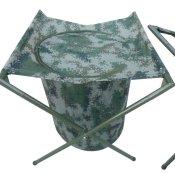 野战折叠水桶水缸-丛林迷彩水桶