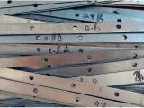 铝塑门窗固定片铝型材卡槽连接加固片