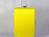 厂家批发条纹abs拉杆箱 万向轮韩版行李箱pc旅行箱时尚密码箱子