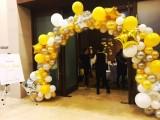 天津新店气球拱门开业气膜拱门音响