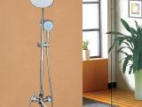 地狼 浴室冷热入墙暗装式全铜花洒套装 沐浴一键三控双花洒套装