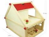 厂价供货 正品幼得乐 拼搭拆装小别墅模型