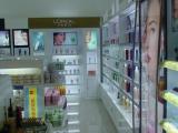 展示展柜 南京专业定制化妆品柜 商场展架
