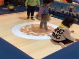 互动3D地面投影墙面游戏虚拟地面砸球绘画沙滩儿童淘气堡