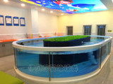 呼倫貝爾天空之鏡玻璃池系列