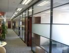 广州玻璃工程,番禺区石基大道附近办公室玻璃隔断,玻璃门安装