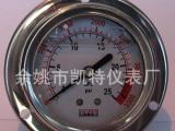 供应压缩机专用耐震压力表