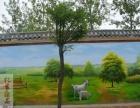 德州广告喷绘 德州室外墙绘 文化墙 喷绘 幼儿园墙