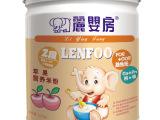丽婴房苹果婴幼儿营养有机米粉/米糊/辅食泥/宝宝钙铁锌2阶段罐
