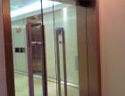 广州玻璃门密码锁,电子锁,中间锁 圆形锁安装