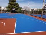 北京籃球場地建設 延慶區籃球場施工 籃球場建設